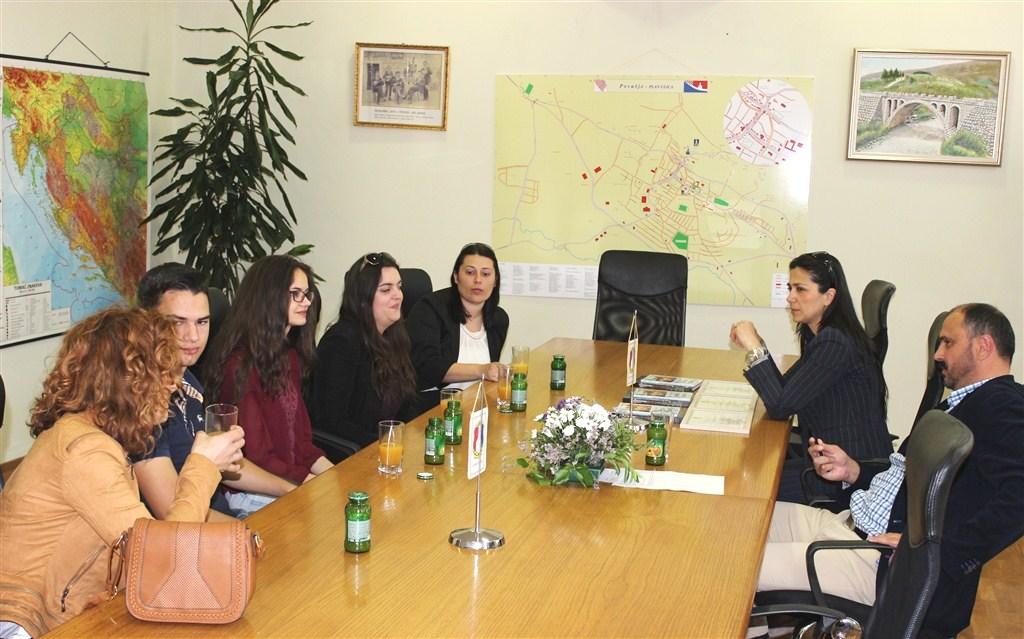 Općinski načelnik primio pobjednike natjecanja iz hrvatskog jezika