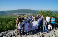 FOTO: Pohod članova HPD Pločno na prapovjesno brdo Nečajno
