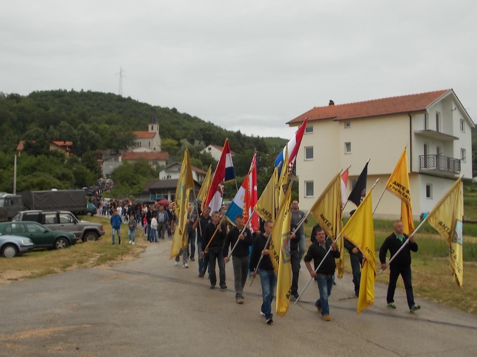 Obilježena 24. obljetnica Prve gardijske brigade A.B. Bušić