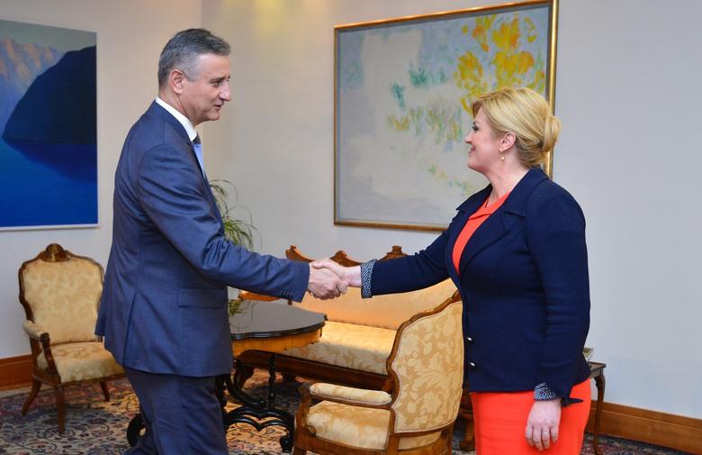 Predsjednica primila Karamarka pa Petrova. U HDZ-u završio sastanak: 'Hrvatska više nema vremena'