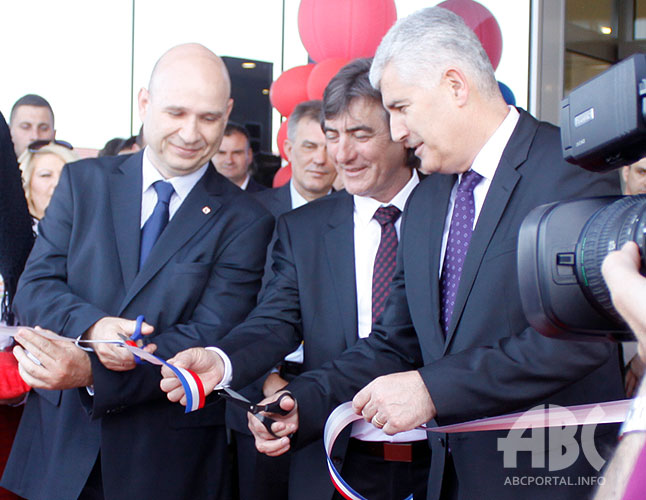 """POSUŠJE: Čović na otvaranju Upravne zgrade tvrtke """"Vokel"""""""