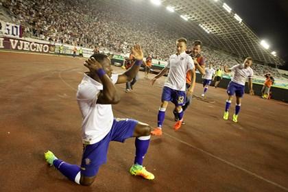 Veličanstvena predstava Hajduka u Ukrajini