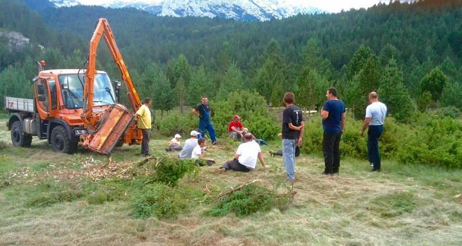 U tijeku pripreme za skup planinara u Masnoj Luci