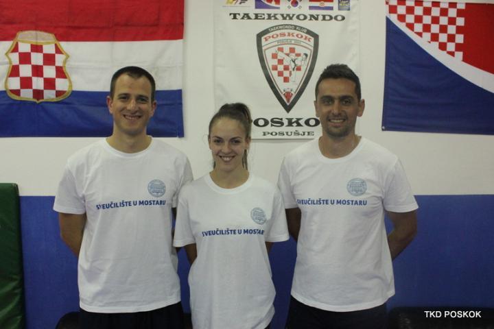 Taekwondo: Martina i Vedran – predstavnici Sveučilišta u Mostaru na Europskim sveučilišnim igrama