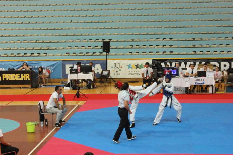 Taekwondo na Europskim sveučilišnim igrama