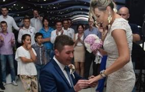 Na svadbenoj zabavi Posušanin na originalan način zaprosio djevojku