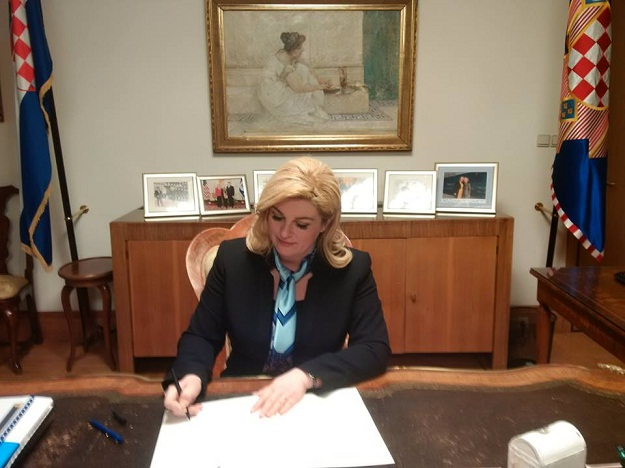 Kolinda raspisala izbore: Na birališta izlazimo 11. rujna