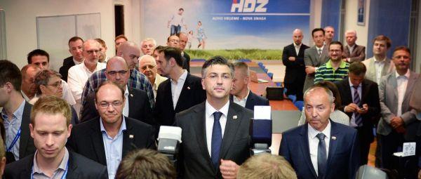 Andrej Plenković novi predsjednik HDZ-a