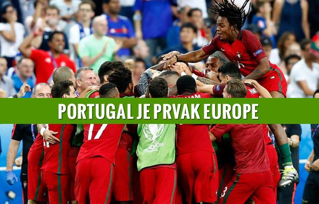PORTUGAL JE PRVAK EUROPE: Bez Ronalda šokirali Francusku u produžecima