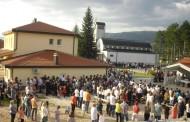 Blagoslov kapelice u čast sv. Anti Padovanskom u župi Sutini