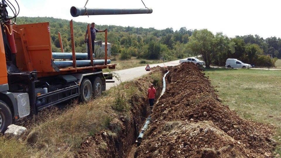Vir: Širenje vodovodne mreže
