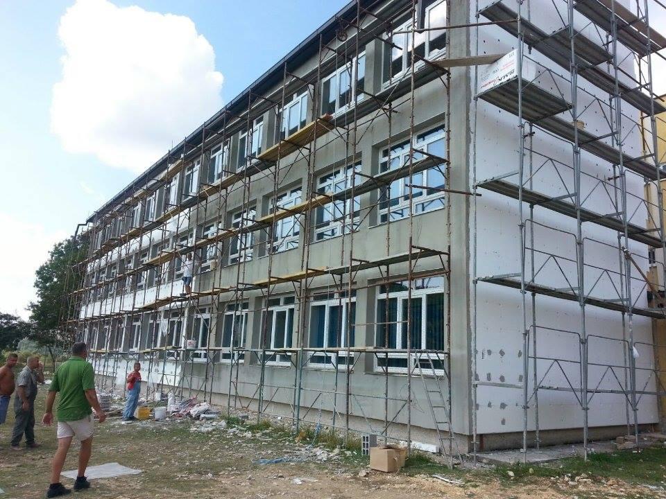 Vir: Rekonstrukcija na OŠ Franice Dall'era