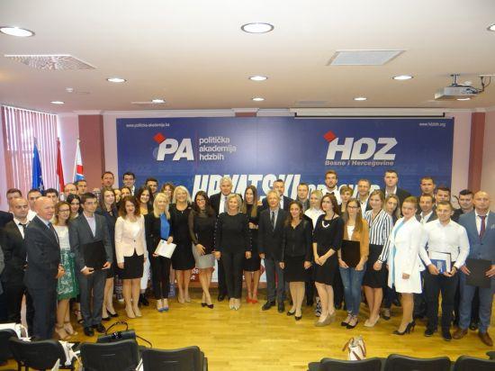 Promocija V. generacije Političke akademije HDZ-a BIH