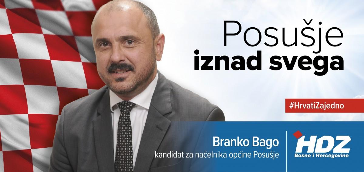 Branko Bago: Poruka žiteljima Posušja