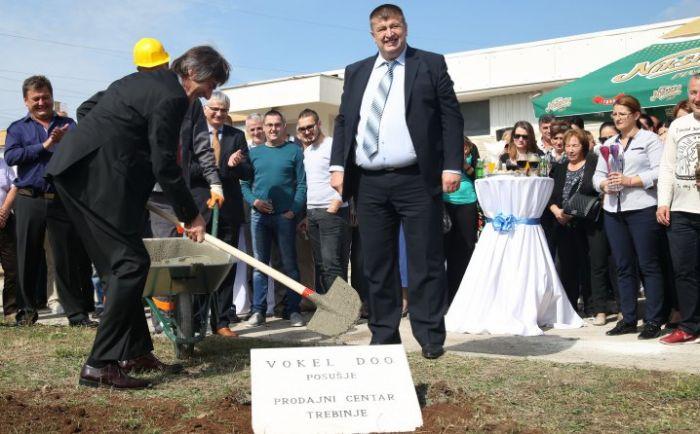 Vokel započeo s izgradnjom poslovnog objekta u Trebinju