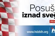 Poziv na središnji predizborni skup HDZ-a u Posušju