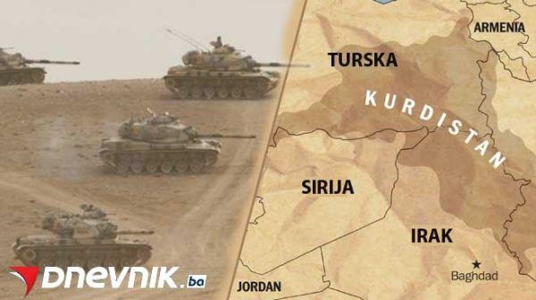 Erdogan ostvario cilj: Odsječeni ISIS i Kurdi