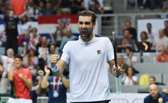 Marin Čilić odveo Hrvatsku u finale Davis Cupa