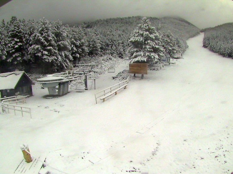 Na Blidinju osvanuo snježni pokrivač