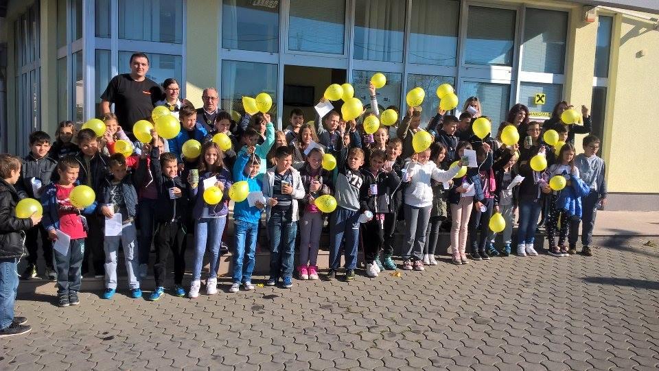 Svjetski dan štednje obilježavaju i učenici OŠ Ivana Mažuranića