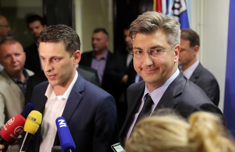 POSTIGLI DOGOVOR: Plenković mandatar Vlade, rotirajuće mjesto predsjednika u Saboru