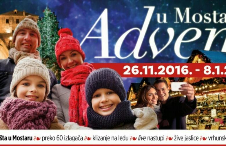 Budite i vi dio zimske čarolije: Sudjelujte na 'Adventu u Mostaru'