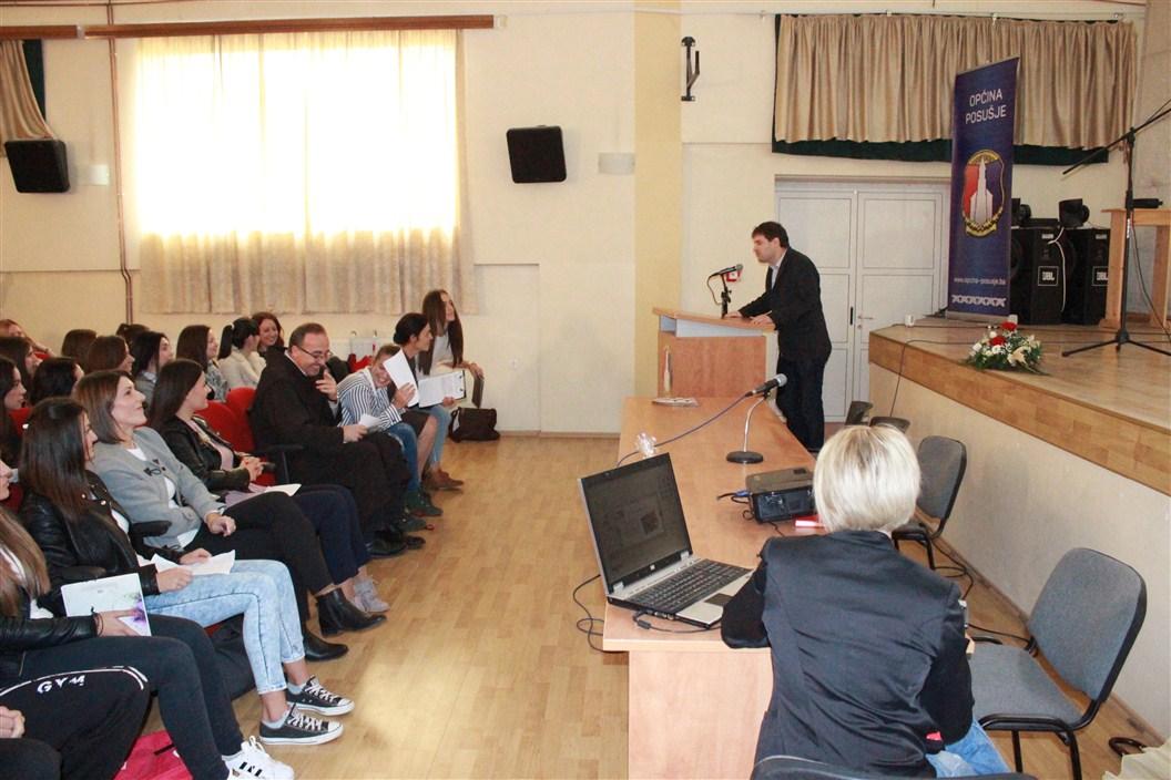 Srednja strukovna škola Posušje: Edukativnim predavanjem obilježeni Dani kruha
