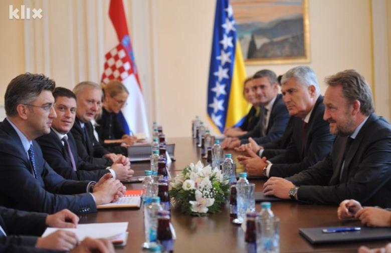 Hrvatska će pružiti BiH svu neophodnu pomoć na putu ka EU