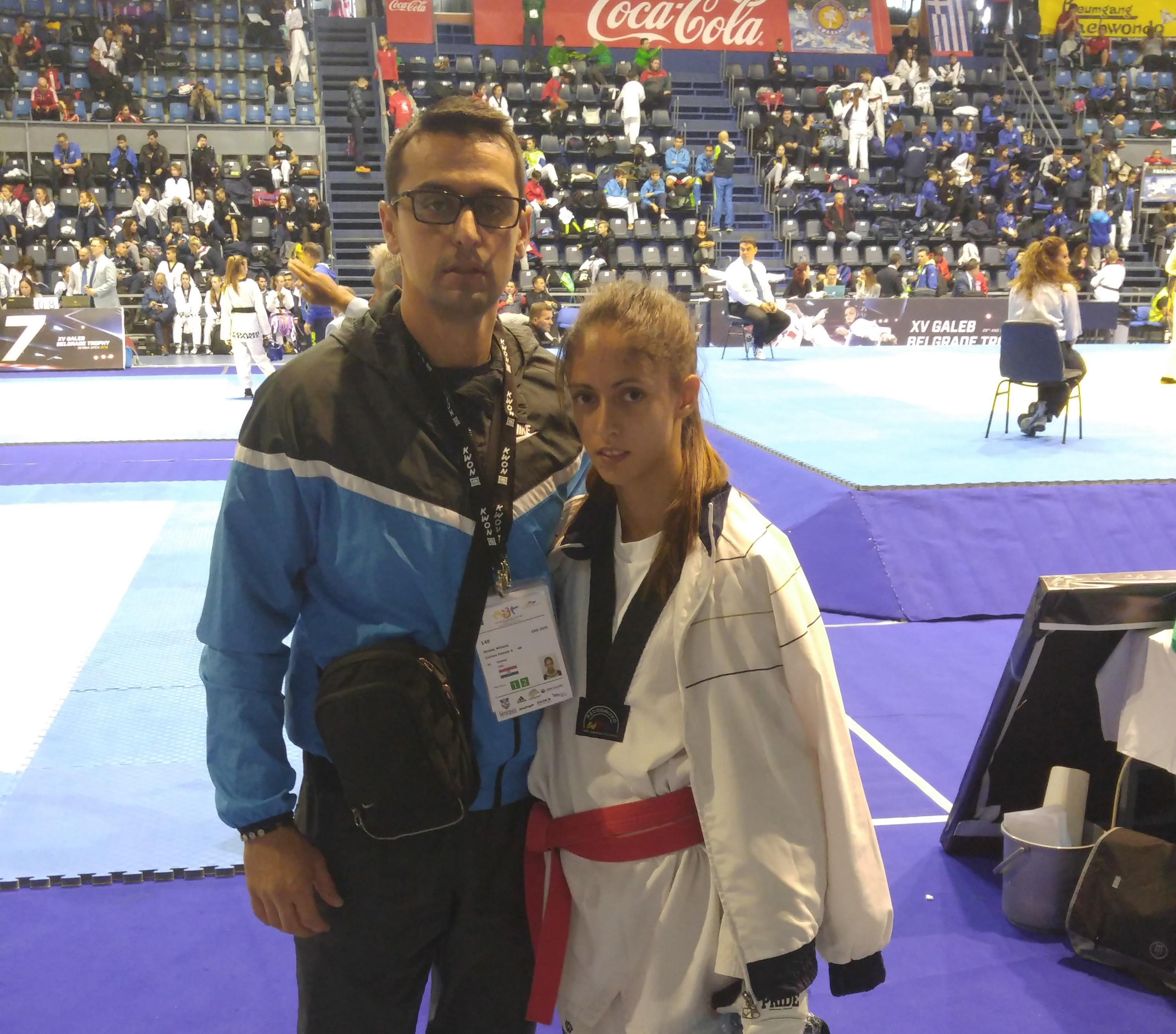 Mihaela Senjak nastupa na europskom G1 turniru