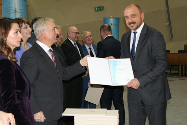 Svečanost u SIP-u: Uručeni certifikati gradonačelnicima i načelnicima u BiH