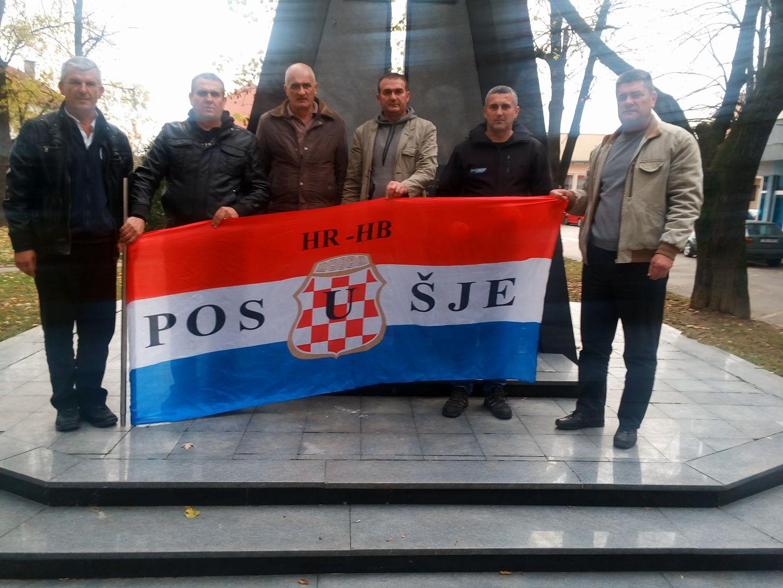 Posjet podrške hrvatskim braniteljima u Orašju