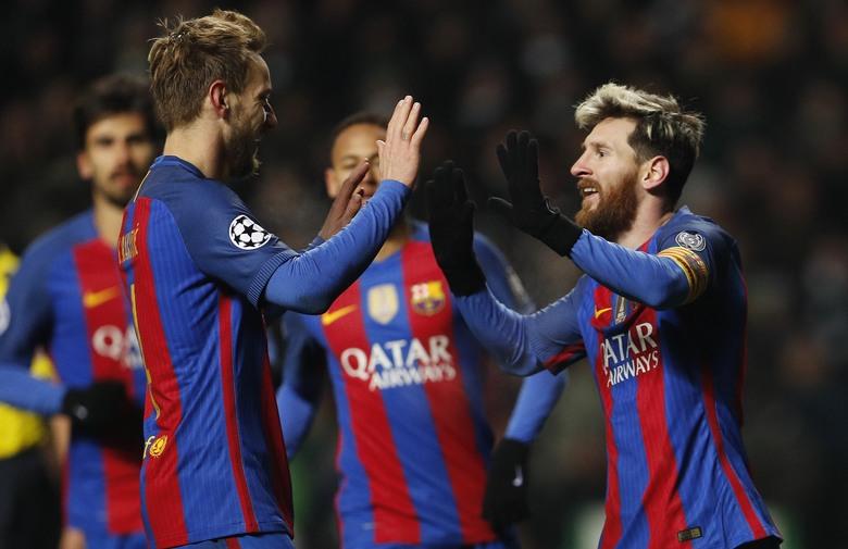 Barcelona s Rakitićem u sastavu osigurala prvo mjesto, Arsenal i PSG podijelili bodove