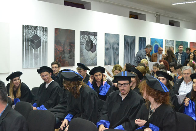 Održana promocija studenata Akademije likovnih umjetnosti na Širokom Brijegu