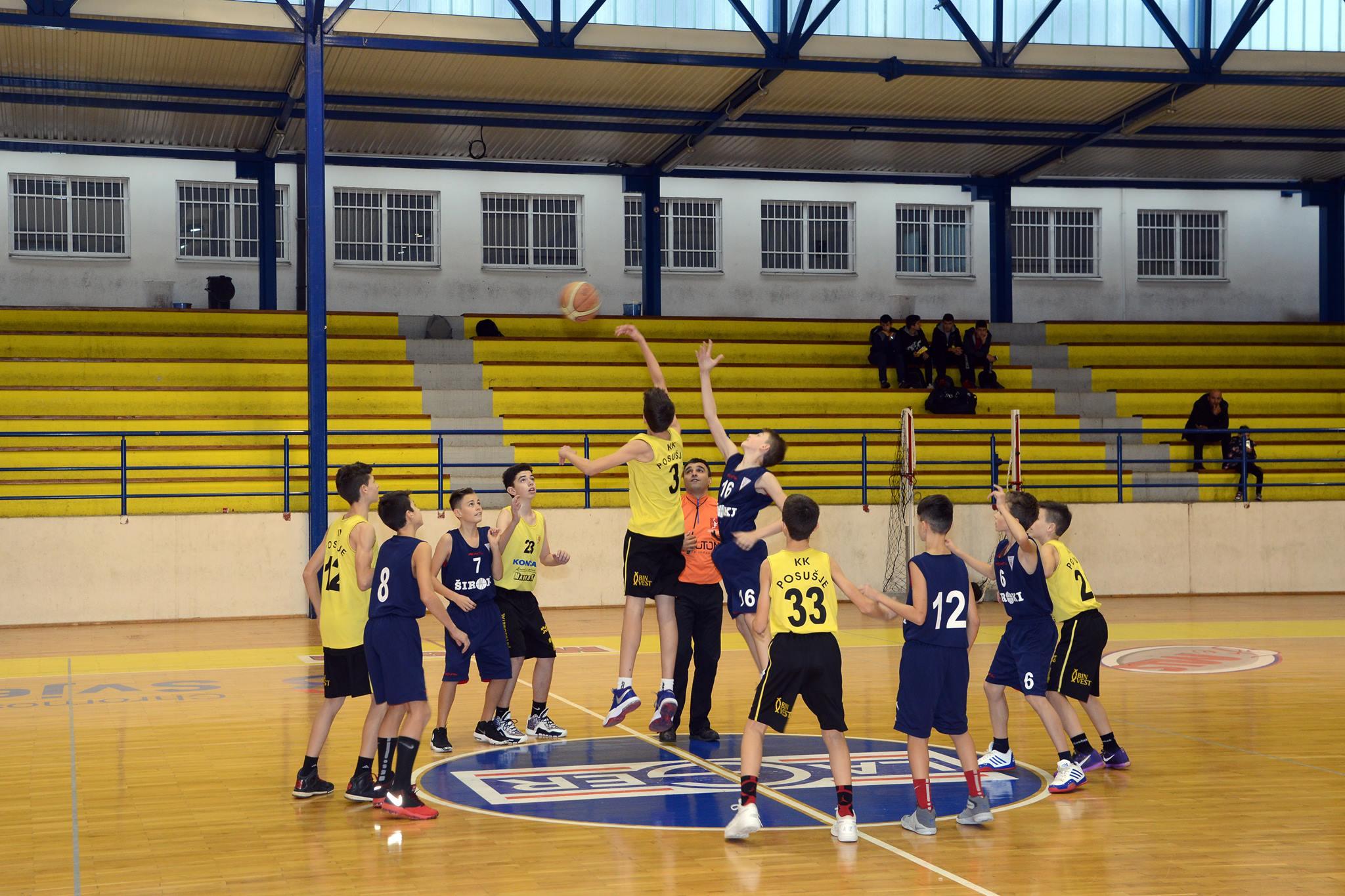 KK POSUŠJE: Mlađe kategorije u tri utakmice slavile protiv Gruda
