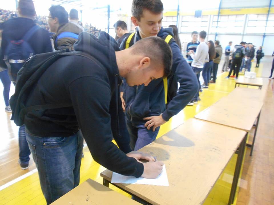 17. studenog posuški srednjoškolci bilježili svoj dan