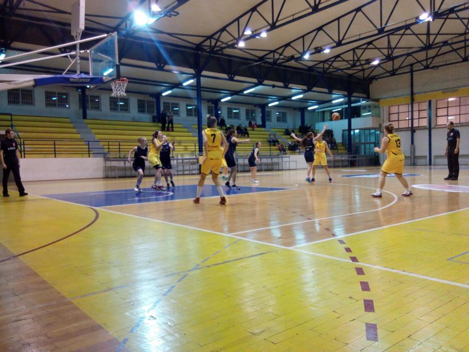 Porazi košarkašica u Ligi mladih