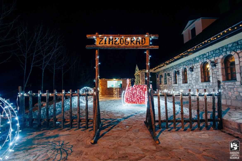 ZIMZOGRAD na Blidinju otvara svoja vrata, uživajte u planinskom božićnom ugođaju