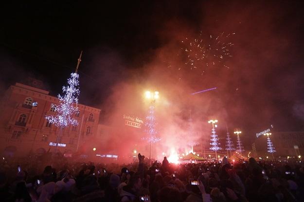 Najluđa noć u godini: Evo što nas čeka na dočeku u deset hrvatskih gradova