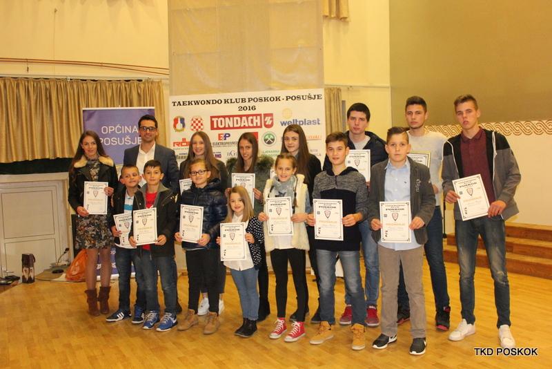 Održana svečana godišnja sjednica TKD kluba Poskok Posušje