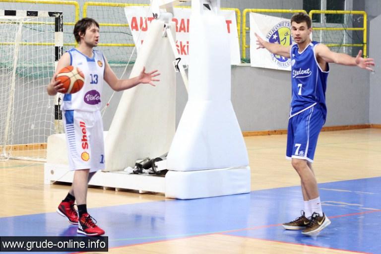 Ivica Širić s 30 koševa predvodio Student u pobjedi protiv Gruda