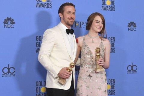 """DODIJELJENI ZLATNI GLOBUSI """"La La Land"""" srušio rekord! Trijumfirao u 7 kategorija"""