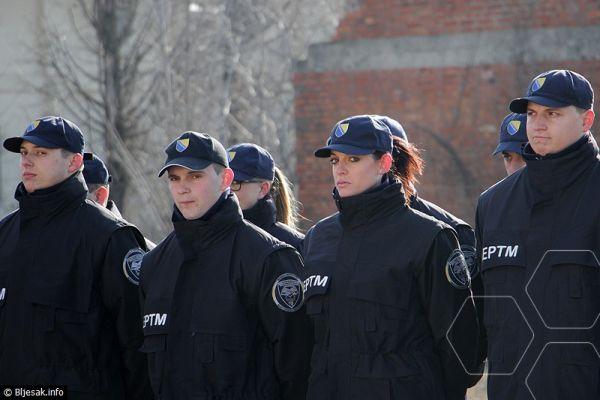 Promovirano 36 kadeta Uprave policije MUP-a ŽZH