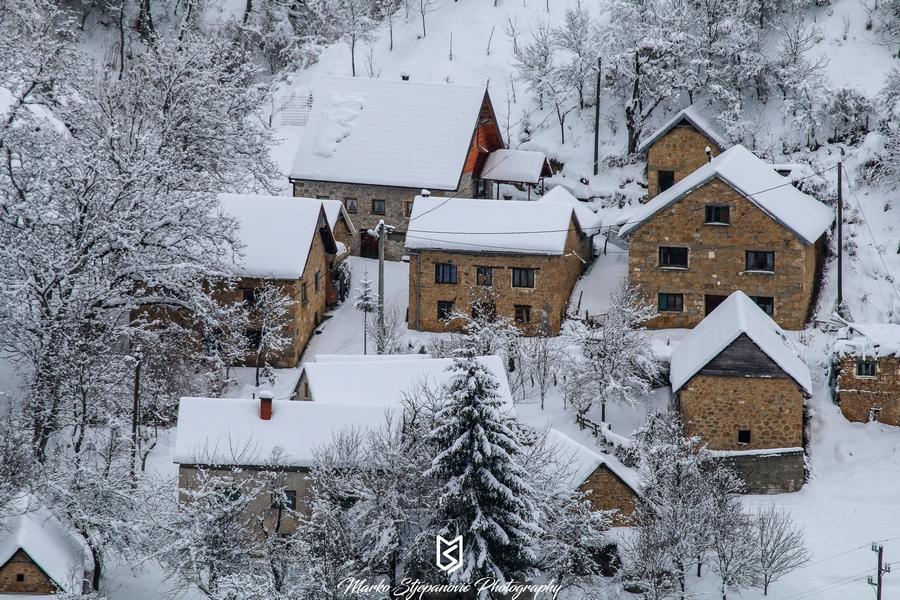 Snježni prizori kroz objektiv Marka Stjepanovića