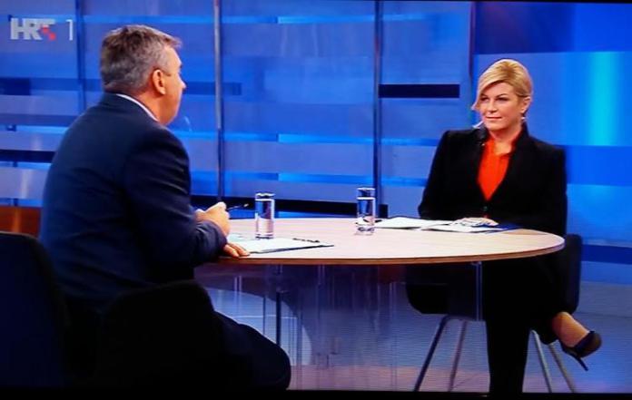 Pogledajte sjajan intervju Predsjednice Kolinde Grabar Kitarović kod Dujmovića