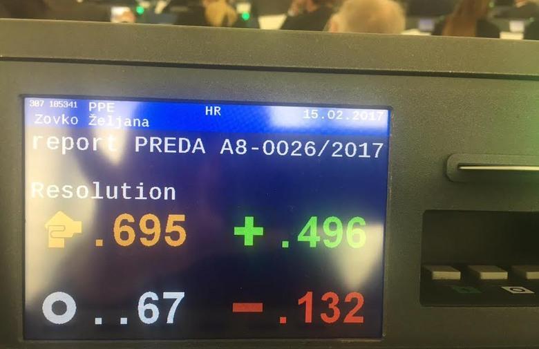 EUROPSKI PARLAMENT: Usvojena rezolucija o BiH, uvršteni amandmani hrvatskih zastupnika