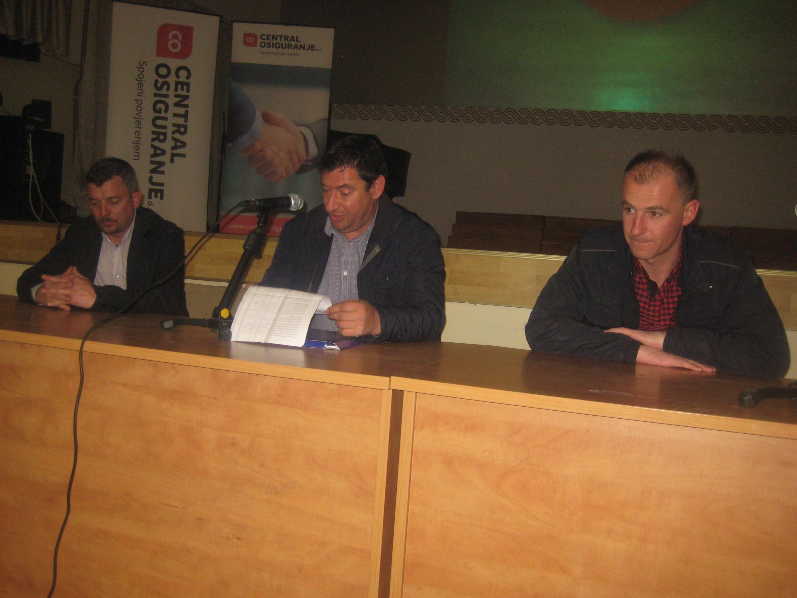 Skupština HPD Pločno i HGSS stanica Posušje