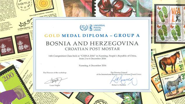 Zlato za marke HP Mostar u Kini