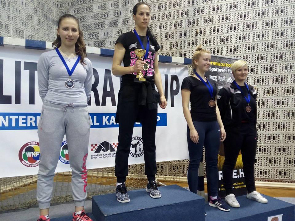 Karate klub Posušje s natjecanja iz Splita vratio se s 4 odličja