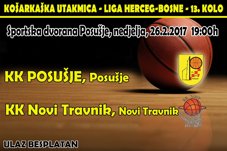 Posušje: KK Posušje – KK Novi Travnik