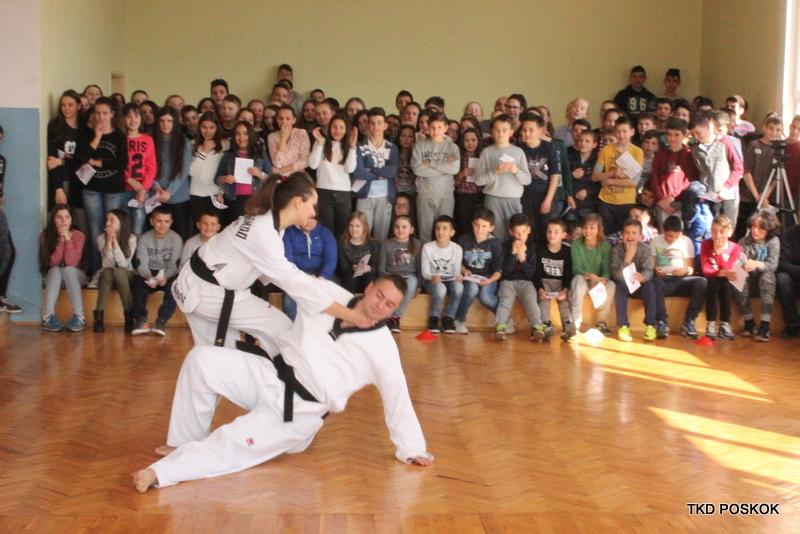 """Taekwondo klub """"Poskok"""" – sekcija Kočerina"""